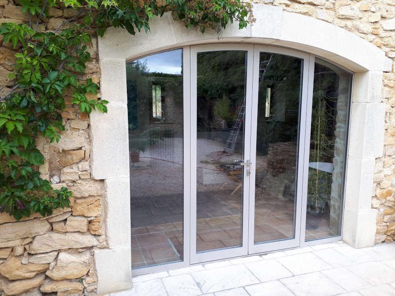 baie vitrée rénovation particulier dans le Gard