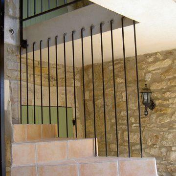Garde corps escalier barreaux