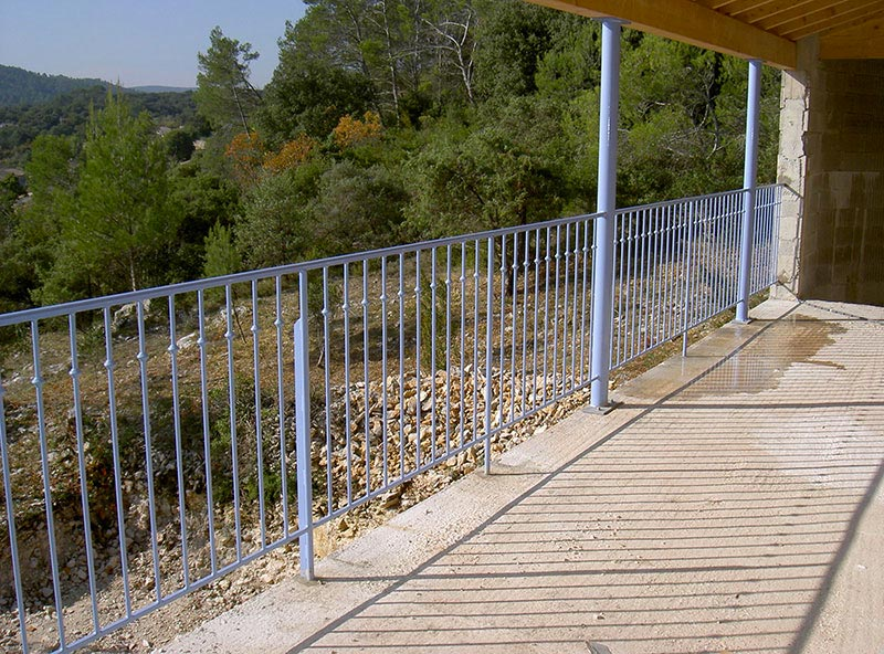 Garde corps terrasse Gard
