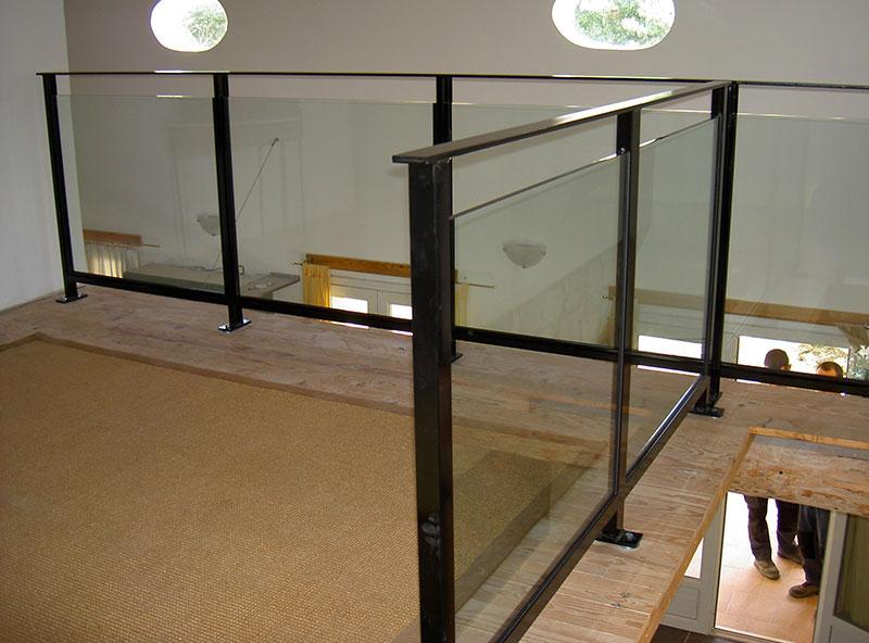 garde corps mezzanine vitr e marconnet. Black Bedroom Furniture Sets. Home Design Ideas
