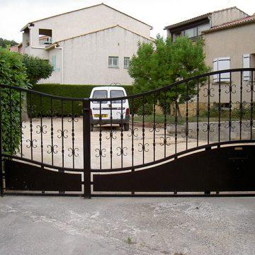 Portail automatisé villa