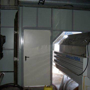 Porte de service cave sur mesure
