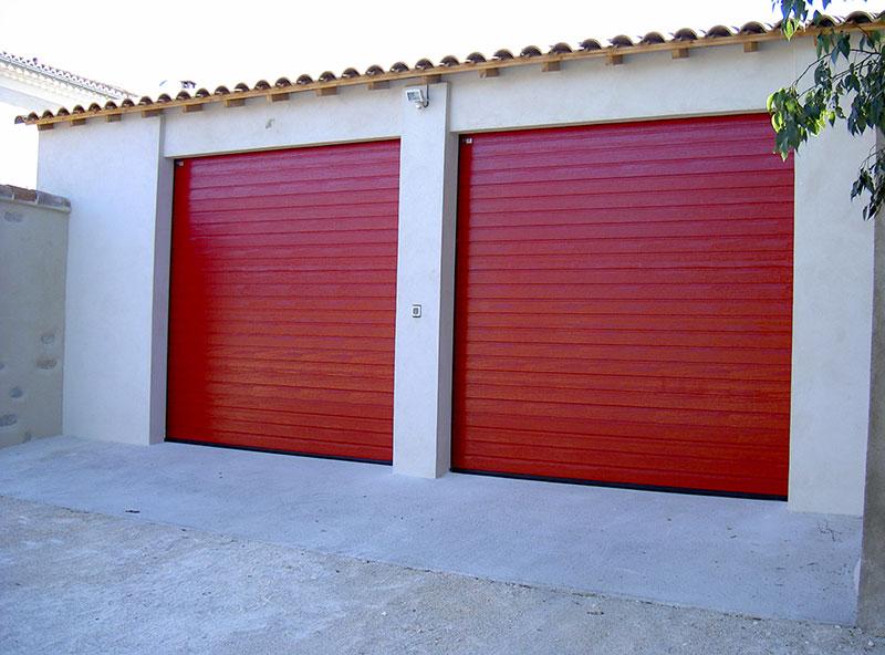 Portes sectionnelles de garage Hörmann