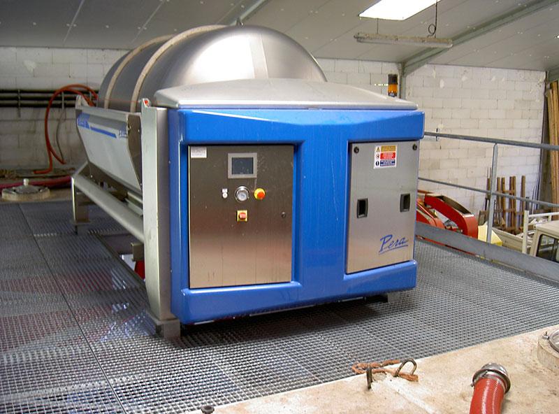 Pressoir plancher métallique caillebotis galvanisé