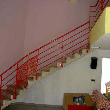 Rampe escalier lisse intérieur