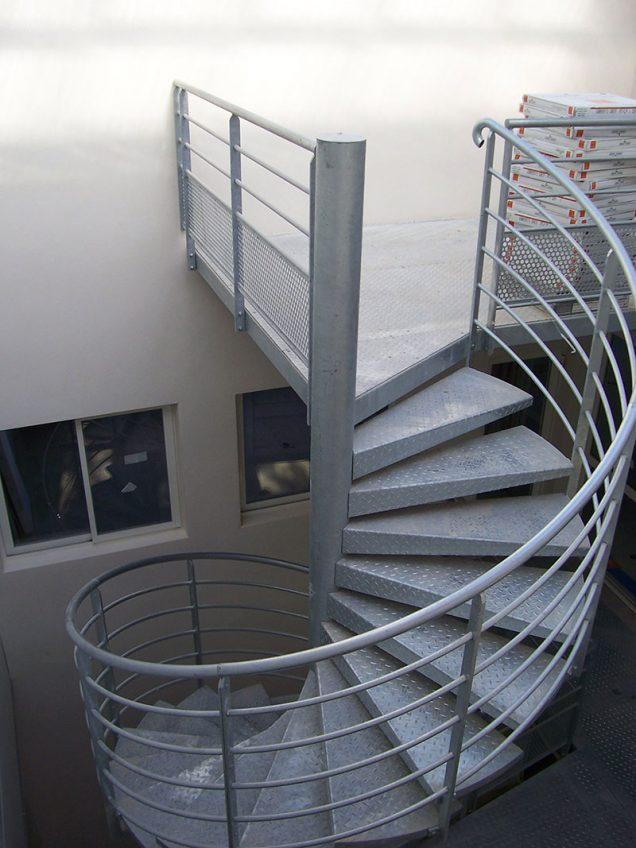 Escaliers Metal Marconnet
