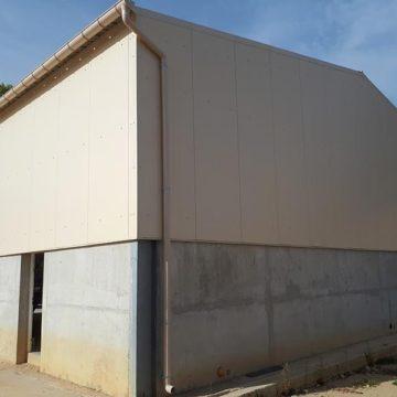 Bardage isolant mur toiture