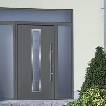Porte d'entrée blindée design dans le Gard