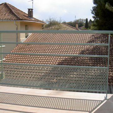 Garde corps balcon ferronnier