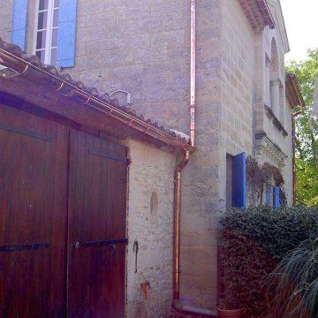 Gouttière cuivre maison et bâtiments