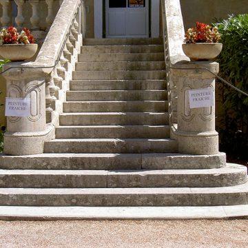 Main courante mairie Cornillon