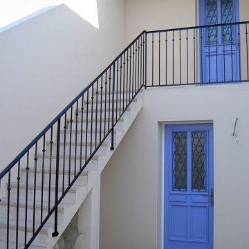 Rampe escalier terrasse