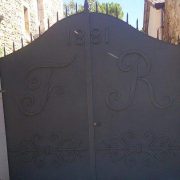 Restauration portail ancien thermolaqué
