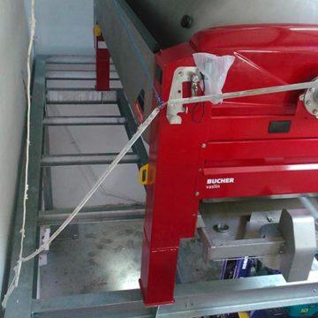 Plancher préssoir galvanisé